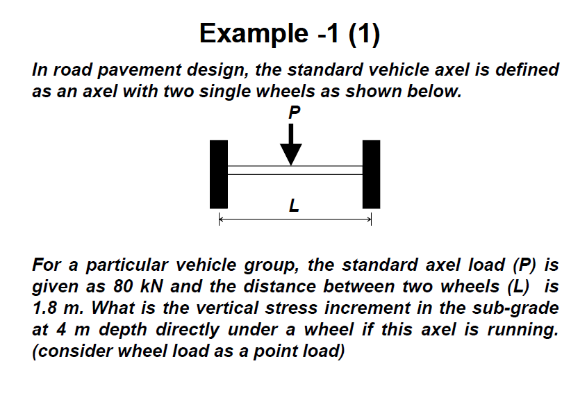 In road pavement design, the standard vehicle axel