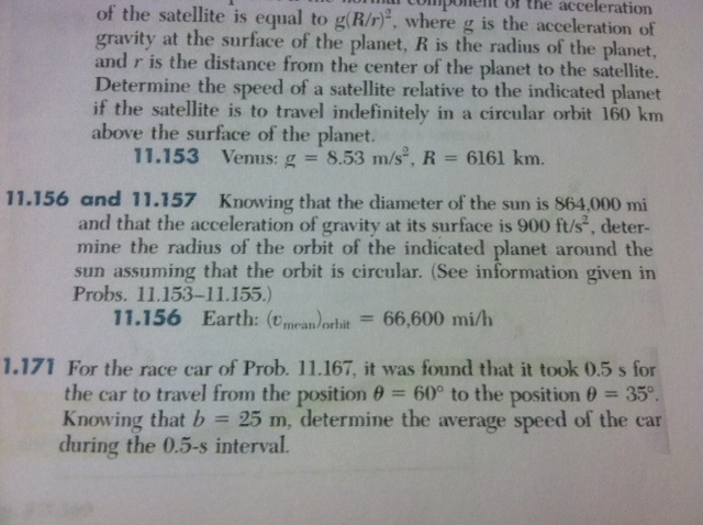 of the satellite is equal to g(R/r)2, where g is t