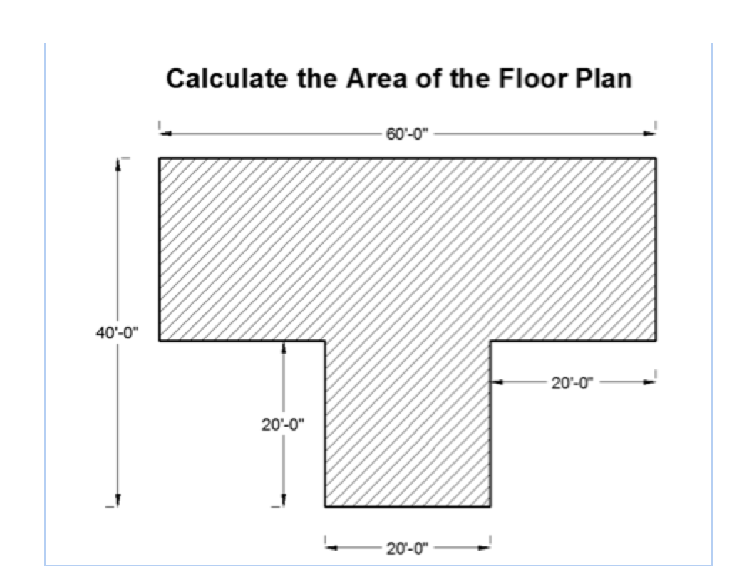 28 Area Of A Floor Plan L Calculate The Perimeter