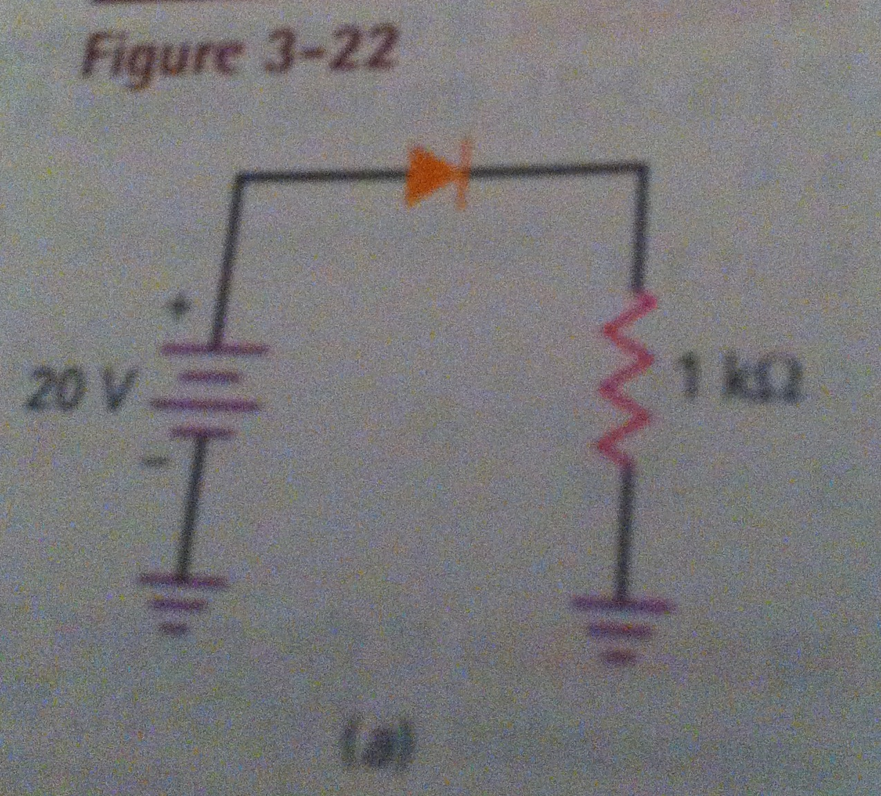Image for Figure 3-22 I need help calculating the load current, load voltage, load power, diode power, and total power o