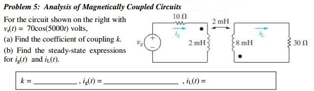 Analysis of Magnetically Coupled Circuits For the