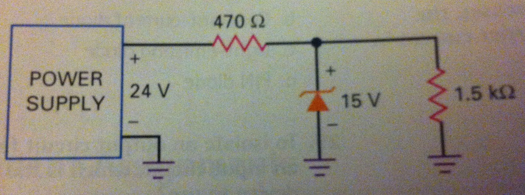 Assuming a tolerance of +or- 5% in both resistors