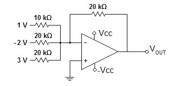 What is the output voltage for the circuit give be