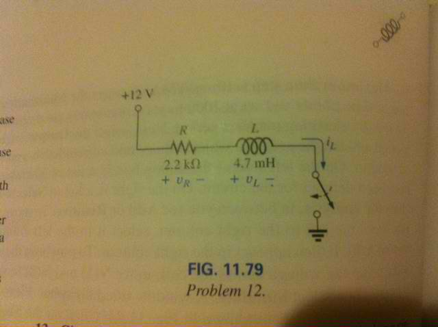 For the circuit in Fig. 11.79 composed of standard