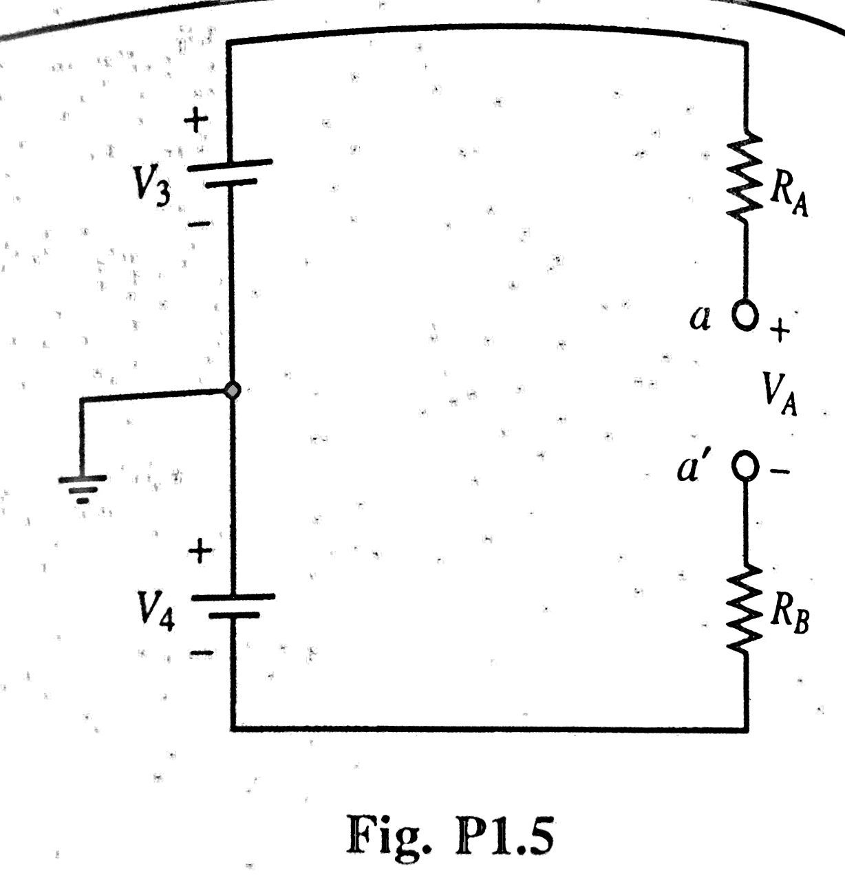 Fig. P1.5 Consider the circuit of Fig. Pl.14 with