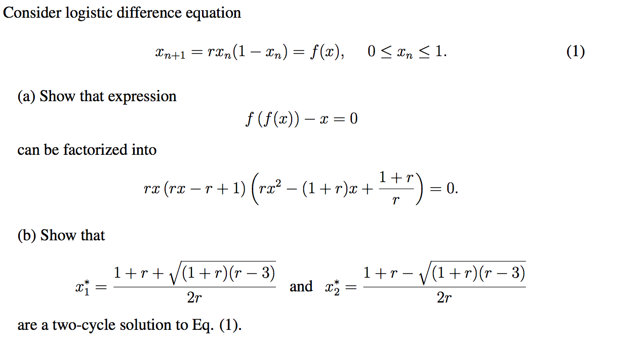 how to use logistic equation