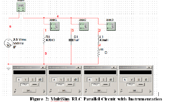 1  launch multisim and build the circuit schematic