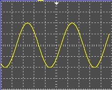 The figure below shows an oscilloscope screen capt
