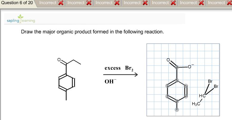 Draw The Major Organic Product Following Chegg Com