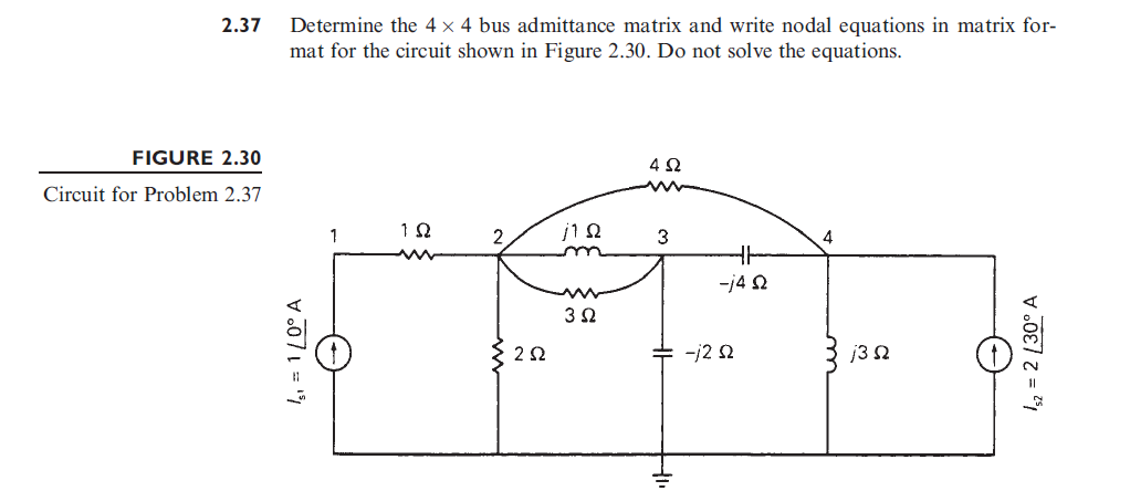 Problem 2.37 Power Systems Analysis an Design 5th