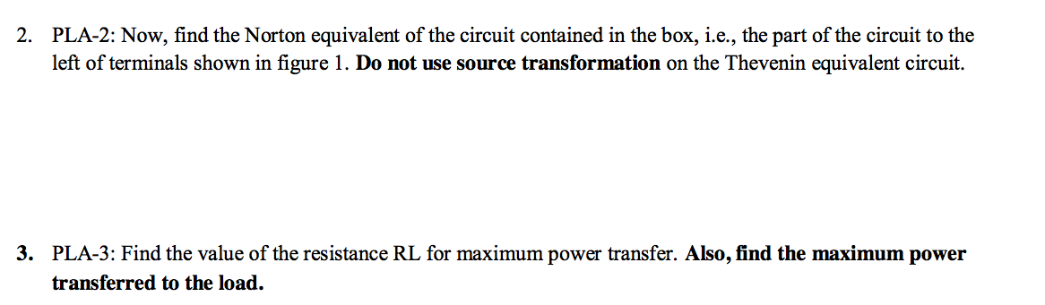 Now, find the Norton equivalent of the circuit con