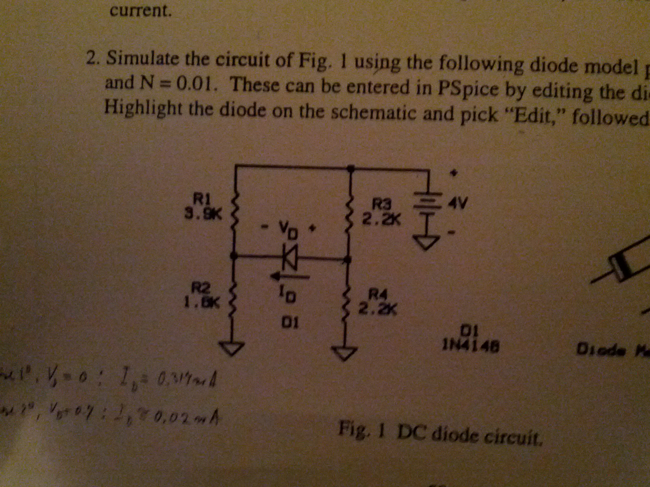 Hi, I have the circuit as pictured. I've never sol