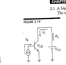 For the transistor in Problem 2.1, compute the loa