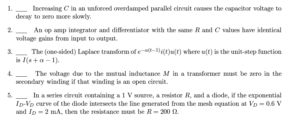 Increasing C in an unforced overdamped parallel