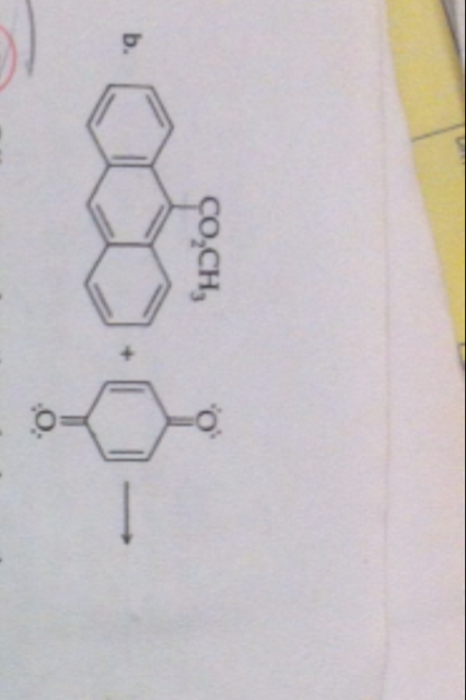 Hi, I need help with the following reaction. It's