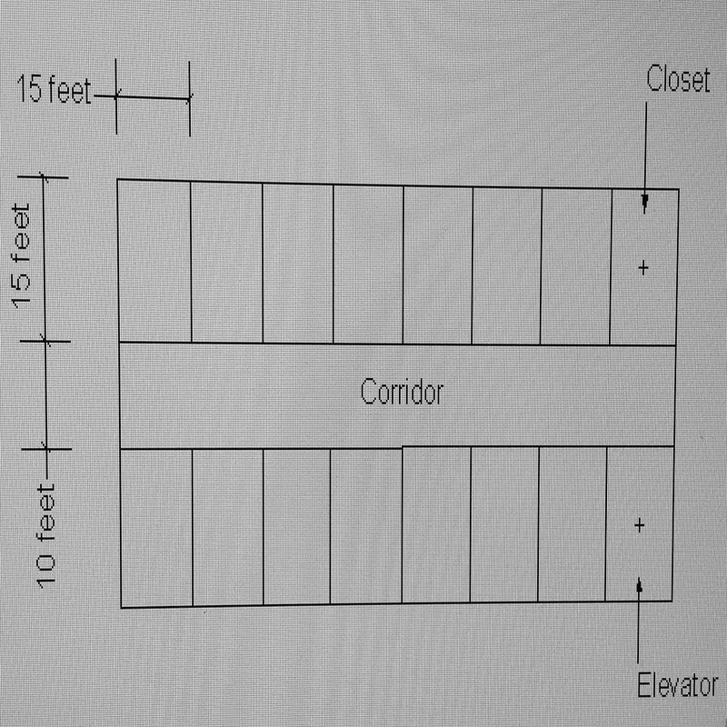 A 10 story office building has the floor plan of t for Local builders house plans