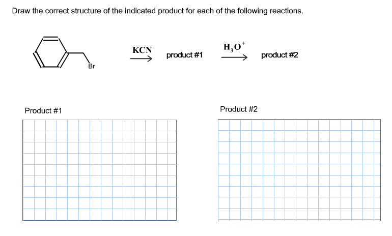 Solved: Draw The Correct Structure Of The Indicated Produc ...