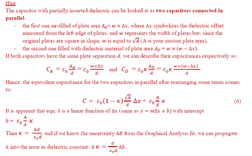 Below are the instructions I received to calculate
