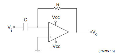 What is the op amp circuit shown above? For examp