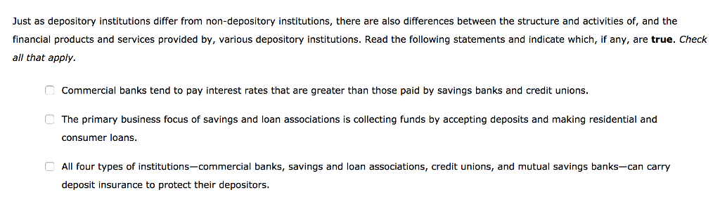 How do deposit institutions differ from non-deposit institutions web pokies