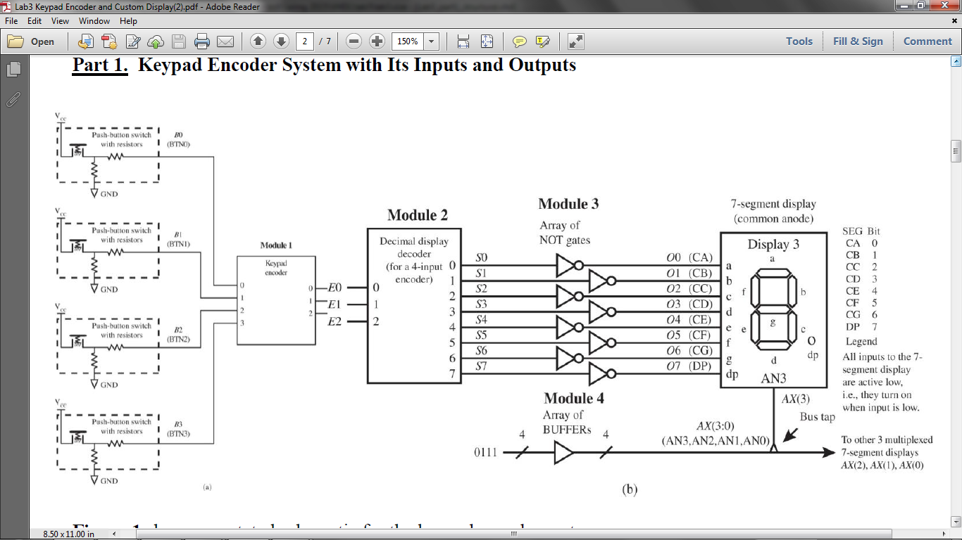 Encoder Decoder Circuits 7 Segment Great Installation Of Wiring Is The Circuit Diagram A Seven Counter Based On Annotated Schematic For Keypad System Binary To Display