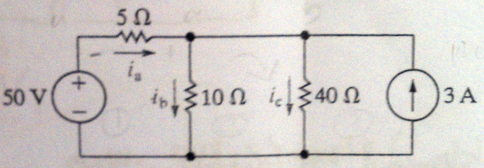 a) Use the node-voltage method to find the branch