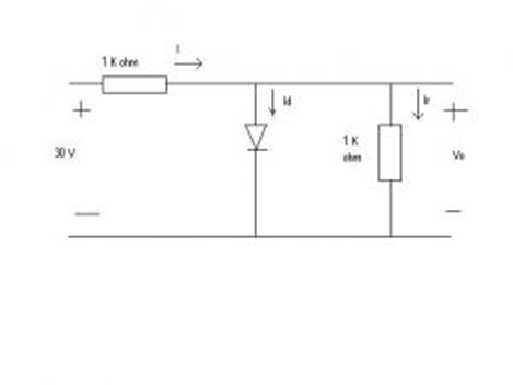 solved  question 1 determine the current id and the diode