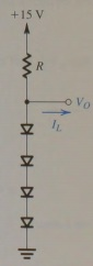 Design the circuit of figure so that Vo=3v when IL