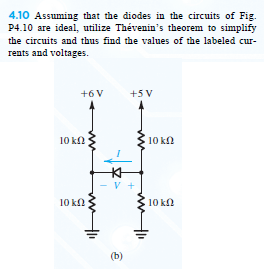 Assuming that the diodes in the circuits of Fig. P