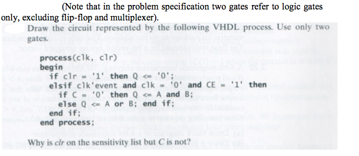 (Note that in the problem specification two gates