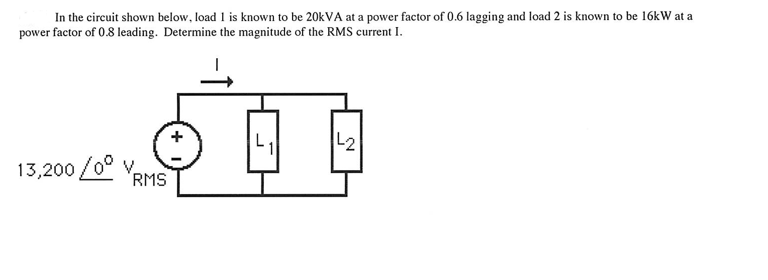 In the circuit shown below, load 1 is known to be