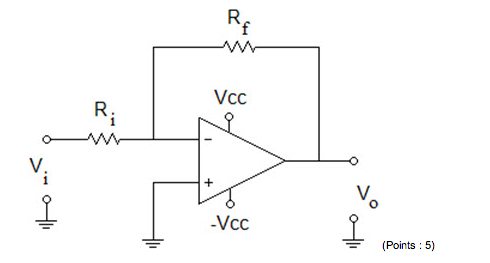 What is the output voltage in the circuit given be