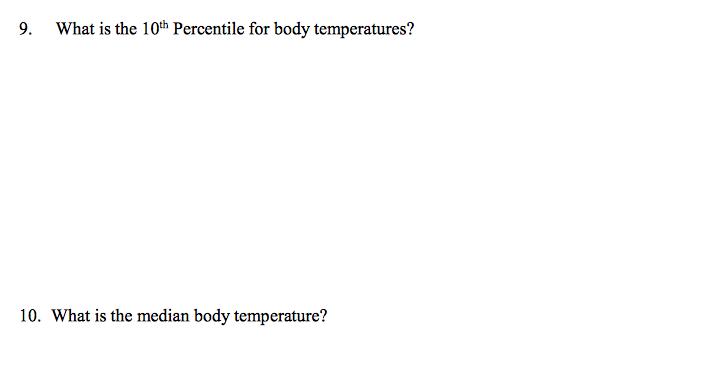 Normal Adult Body Temperature