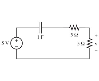 Find the voltage, , in the figure.