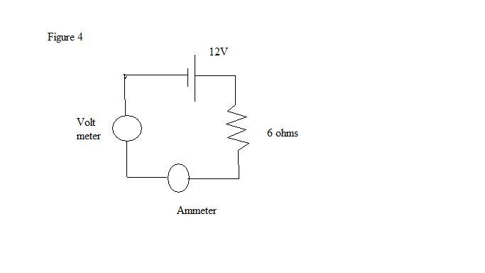 What is the current through the 6 ohm resistor? Wh