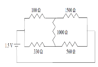 calculate the current across each resistor and the