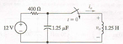 I need the process and the equation to find Vo(t)