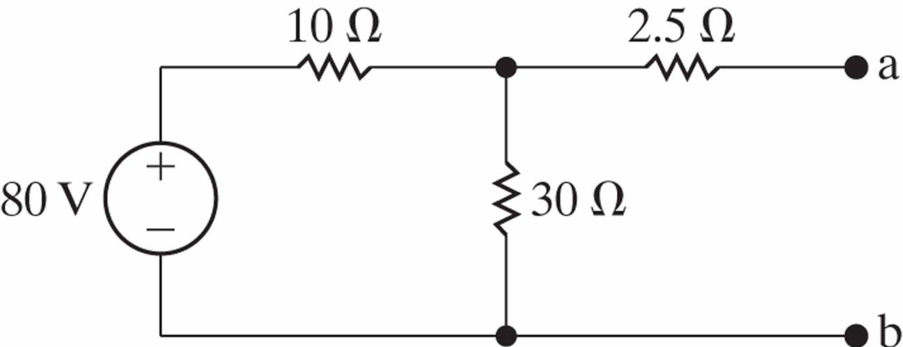solved  show the thevenin and norton equivalent circuits f