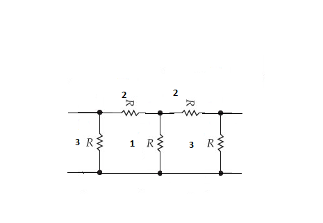 Determine the impedance parameters for the two-por