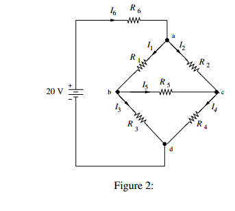 PLA-2: For the circuit shown in ?gure 2, R1 = R2 =
