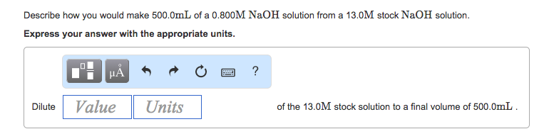 how to prepare 1 m naoh solution