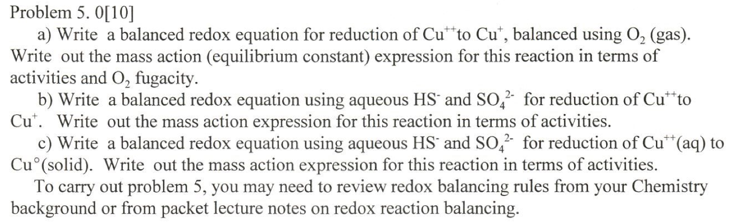 Write a balanced equation for the reduction of benzil