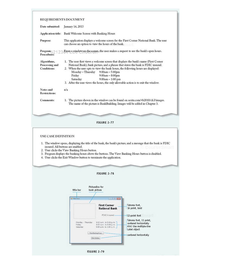 Create a Windows form mock- up for the following r