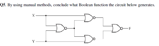 By using manual methods, conclude what Boolean fun
