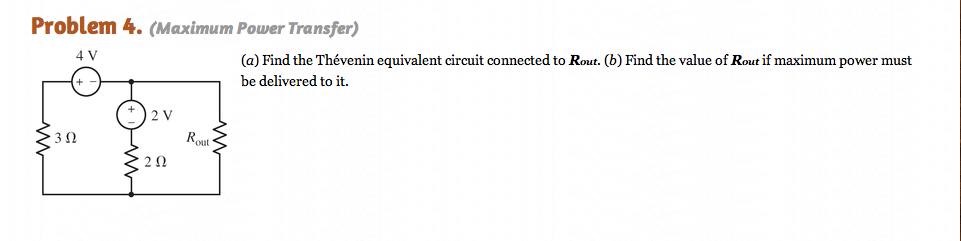 Find the Thevenin equivalent circuit connected to