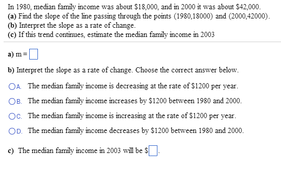 In 1980: median family income was about ,000, a