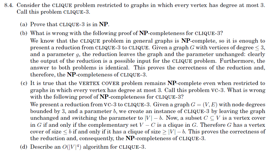 Solved Proving Np Completeness By Generalization For Eac