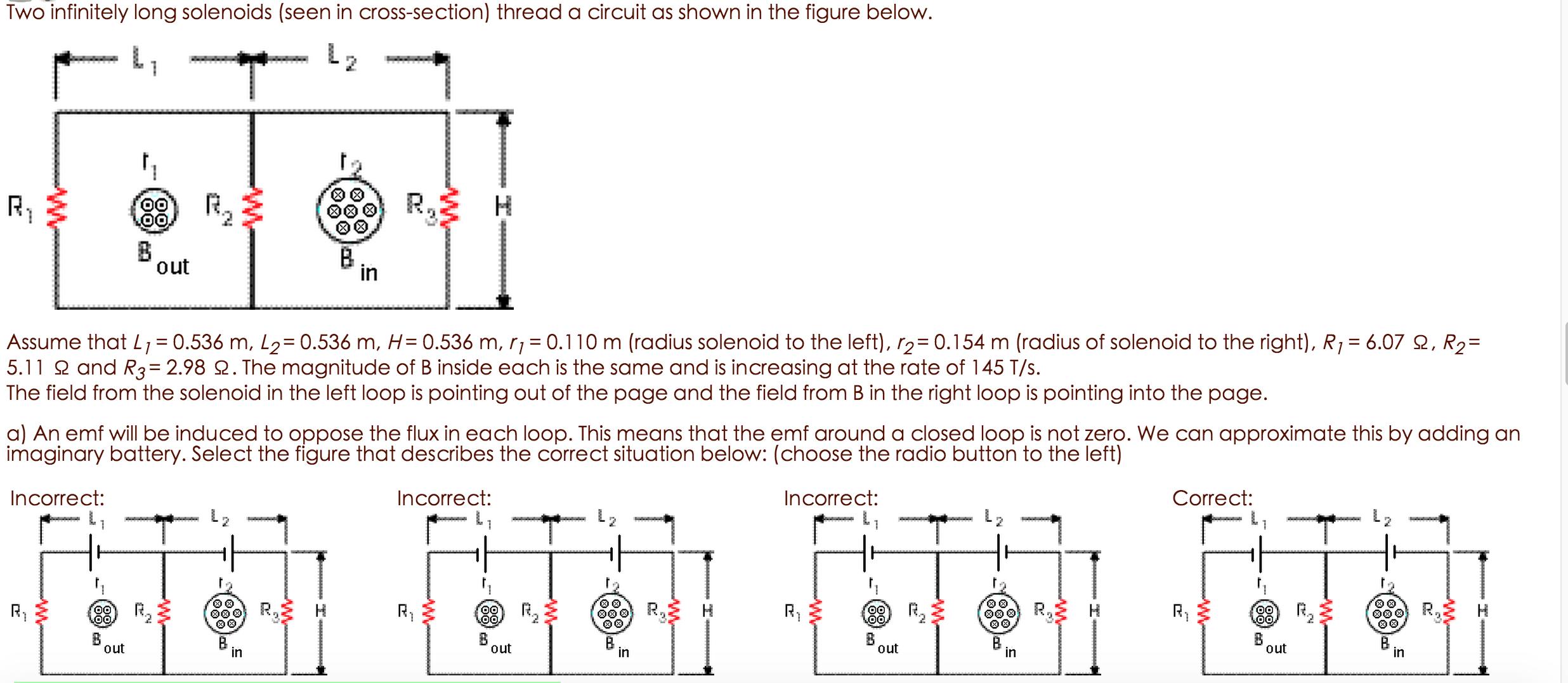 Physics homework answers