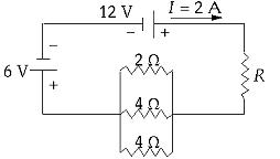 The power dissipated in the unknown resistor (R) i