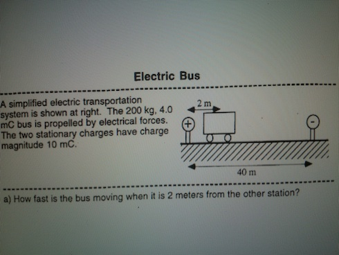 Electric Bus A simplified electric transportation